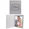 8 x 10 Gray Marble Photo Folder
