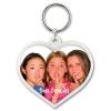 Snap-In Heart Keytag