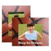 Basketball Paper Easel Frame
