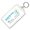 Business Card Snap-In Keytag
