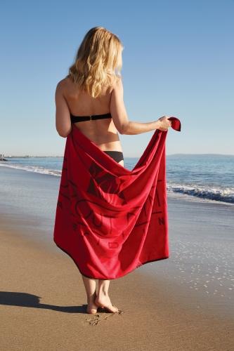 Sand Repellent Beach Blankets (Screen Print)