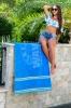 Sol Gear South Beach Collection Beach Towel (Screen Print)