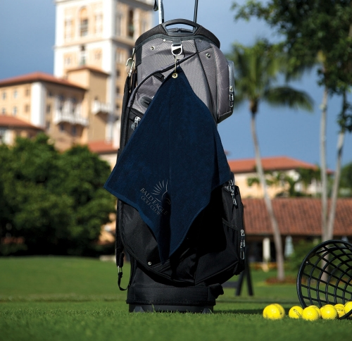 Jewel Collection Soft Touch Golf Towel (Embroidery)