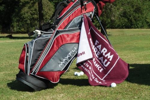 Custom Jacquard Woven Golf Towel (16