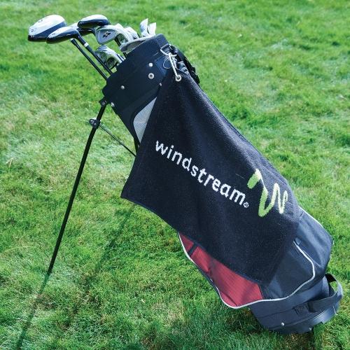 Custom Jacquard Quick Ship Golf Towel