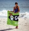 Custom Fiber Reactive Beach Towel (Mid-Weight)