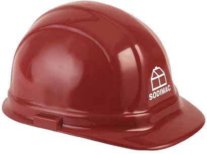 OSHA Certified Hard Hat w/ Pad Press Imprint