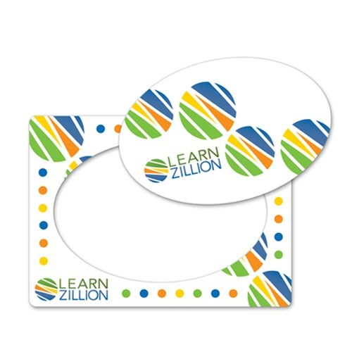 Full Color Magnet Frame w/ Oval Cut Out (4