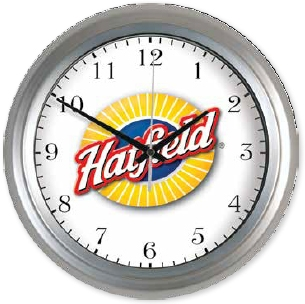 Metal Wall Clock (13 3/8