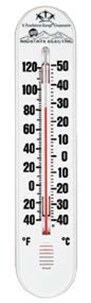 Indoor / Outdoor Thermometer (3 3/8