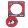Full Color Magnet Frames w/ Oval Cut Out (3 1/2