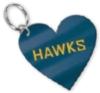 Heart Inlaid Key Ring