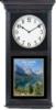Black Stain Regulator Wall Clock (12