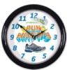 Wall Clock w/ Motion Sweep (8 1/2