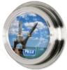 Nickel Replica Porthole Thermometer (9