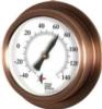 Copper Replica Porthole Thermometer (9