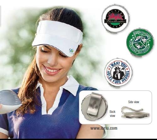 Hat Clip w/ Removable Ball Marker