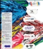 Vinyl 500 Streamer Pom Poms w/ Contoured Handle (Unimprinted)