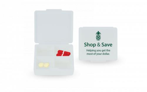 Four-A-Day Pill Box
