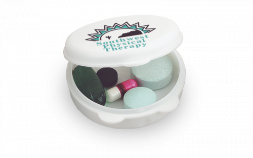 Round-The-Clock Pill Box