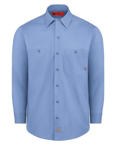 Industrial Long Sleeve Work Shirt - Long Sizes