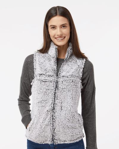 Women's Sherpa Full-Zip Vest