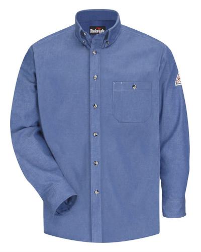 Excel Denim Work Shirt - Long Sizes