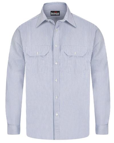 Striped Uniform Shirt - EXCEL FR® Long Sizes