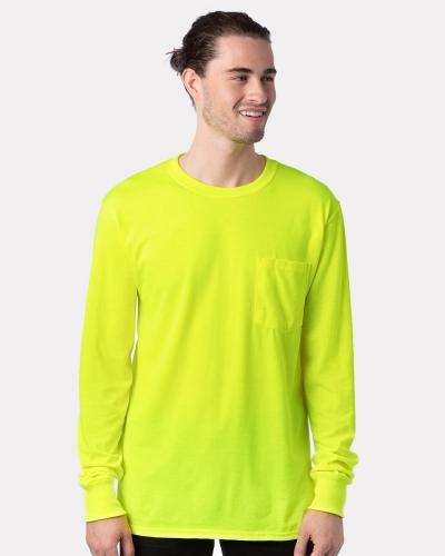 Workwear Long Sleeve Pocket T-Shirt