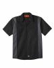 Industrial Colorblocked Short Sleeve Shirt