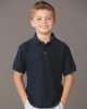 Youth Easy Care Piqué Sport Shirt
