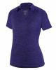 Women's Intensify Black Heather Sport Shirt
