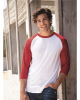 Premium Blend Ringspun Three-Quarter Sleeve Raglan Baseball T-Shirt