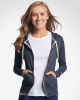Women's Essential Jersey Full-Zip Hoodie