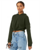FWD Fashion Women's Cinched Cropped Hoodie