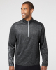 Brushed Terry Heathered Quarter-Zip Pullover - A284