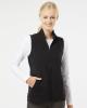 Women's Textured Full-Zip Vest