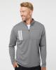 3-Stripes Double Knit Quarter-Zip Pullover
