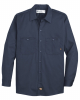 Industrial Cotton Long Sleeve Work Shirt - Long Sizes