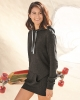 Women's Baja Stripe French Terry Full-Zip Hooded Sweatshirt