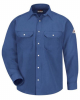 Snap-Front Uniform Shirt - Nomex® IIIA - 6 Oz. - Long Sizes