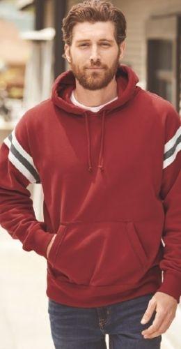 Vintage Athletic Hooded Sweatshirt