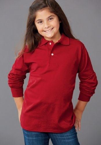 SpotShield™ Youth Long Sleeve Sport Shirt