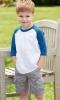 Toddler Three-Quarter Sleeve Baseball Jersey