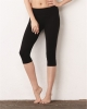 Women's Cotton Spandex Capri Fit Leggings