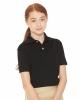 Youth Moisture Free Mesh Sport Shirt