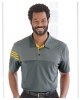 Heathered 3-Stripes Colorblock Sport Shirt