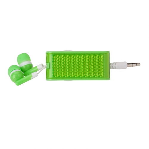 Mantus  Earbuds With Reflector & Light
