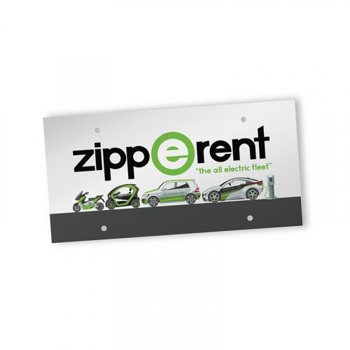 PaperSplash? Front License Plate