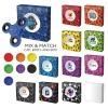 Helo Hand Spinner & Box W/ Full Color Imprint